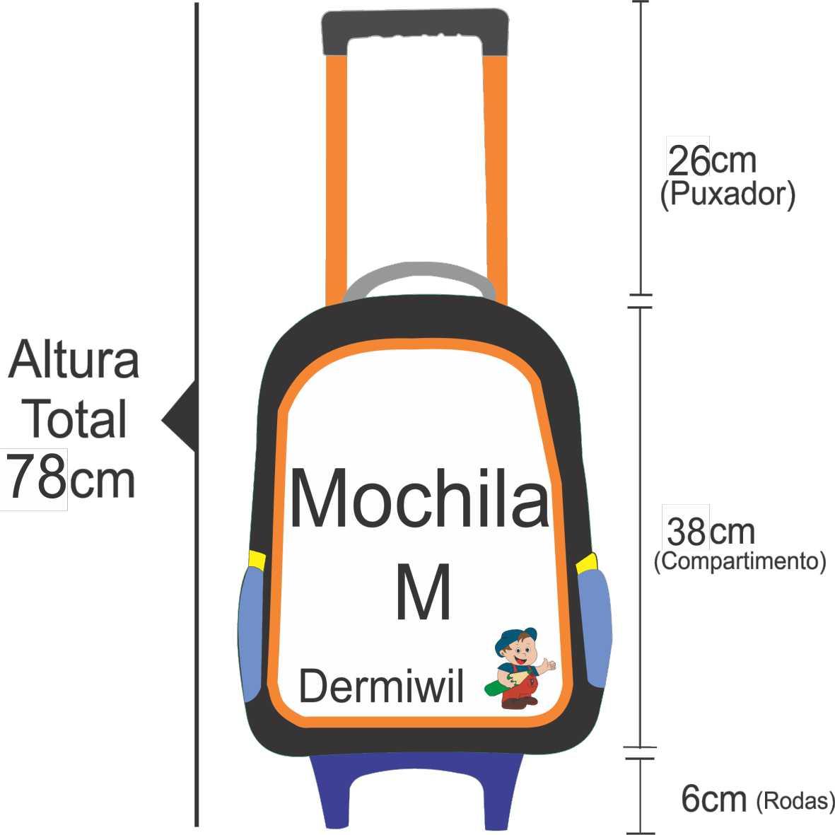 mochila de rodinha infantil escolar