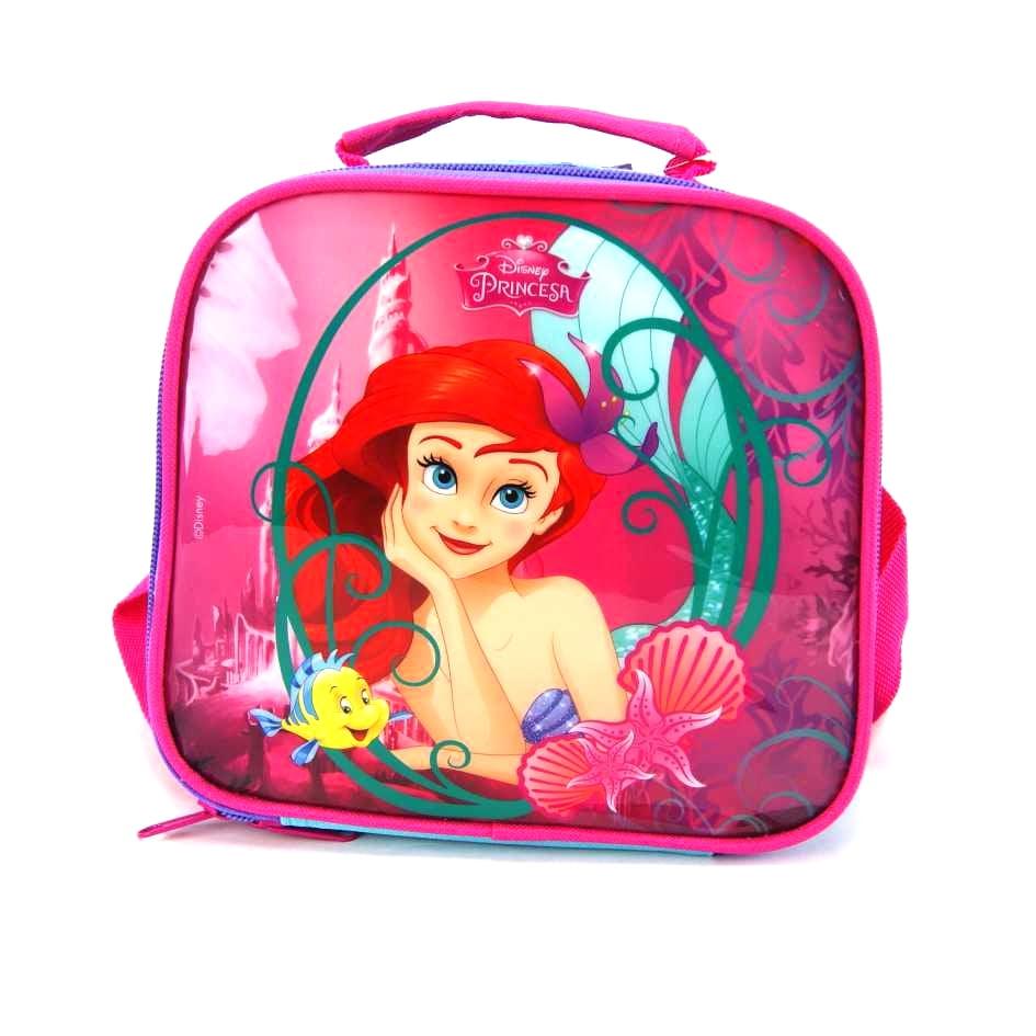 Lancheira Pequena Sereia Ariel Princesas Disney ref 36916 Dermiwil