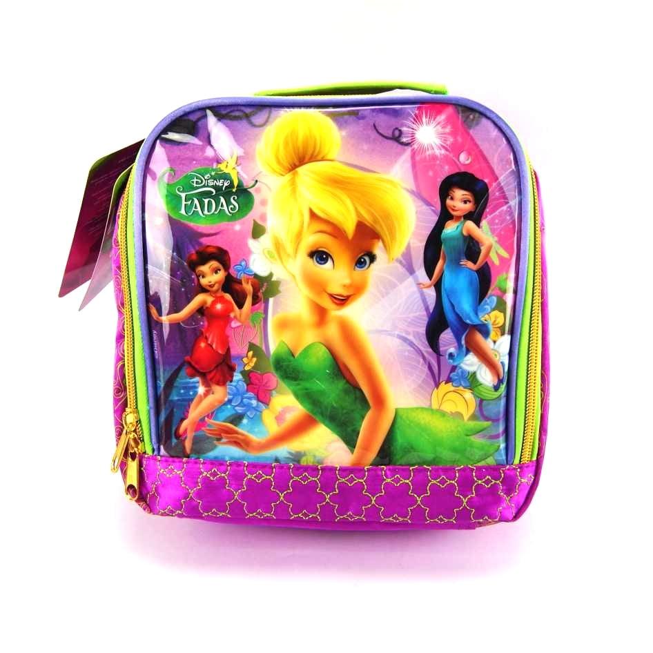 Lancheira Tinker Bell Fadas Disney ref 37075 Dermiwil