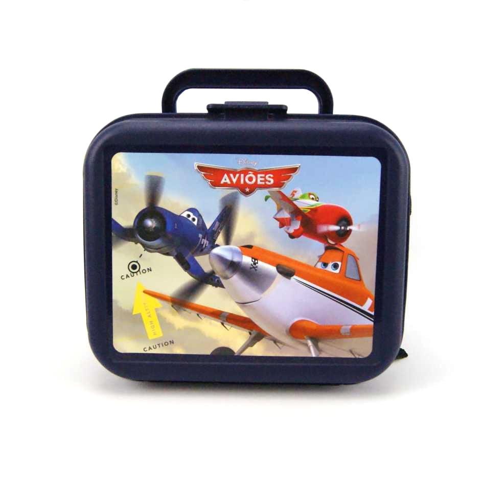 Lancheira Escolar Injetada Aviões Disney 50878 #1 Dermiwil