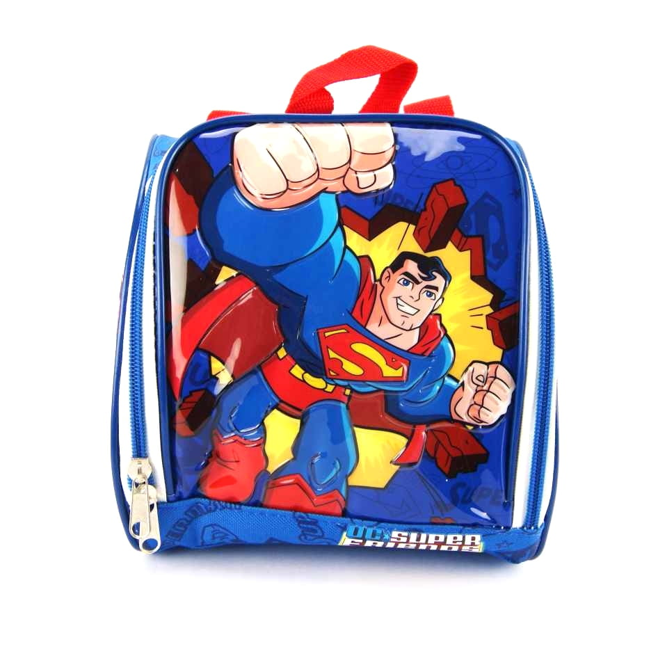 Lancheira Superman DC Super Friends Liga da Justiça ref 4125 AIG