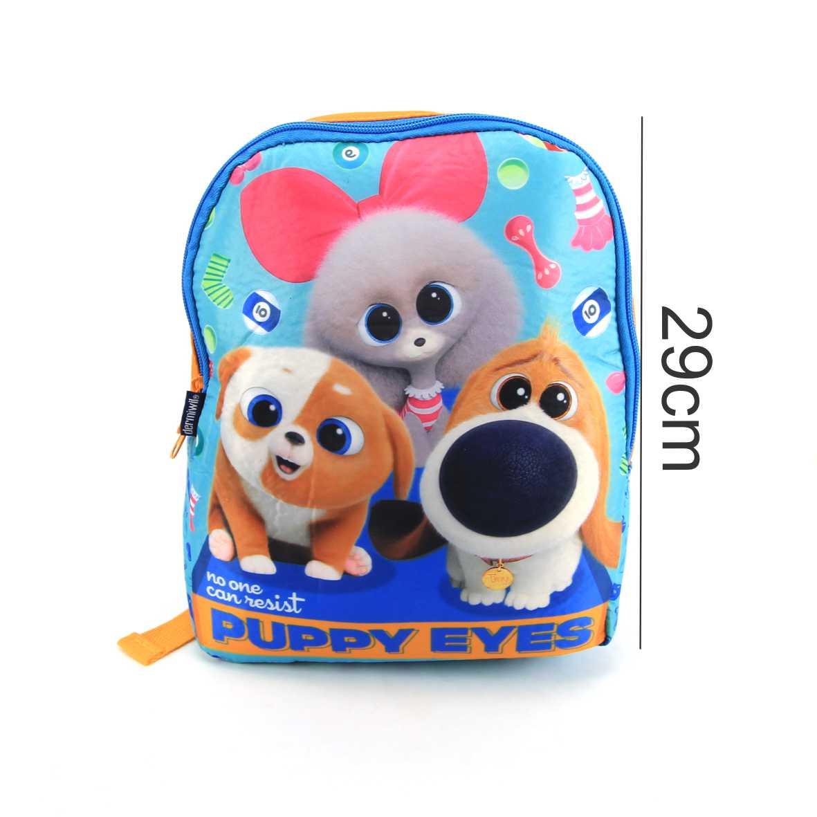 Mochila Pequena de Costas Infantil Pets 2 Puppy Eyes Dermiwil 37303