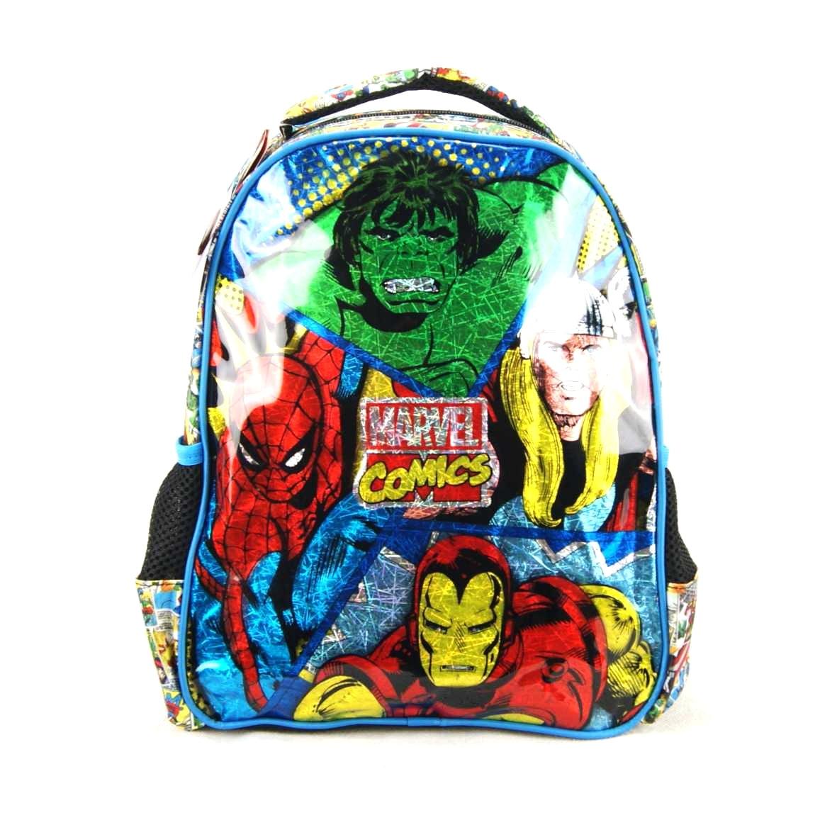 Mochila Infantil Marvel Comics Vingadores Xeryus 7073
