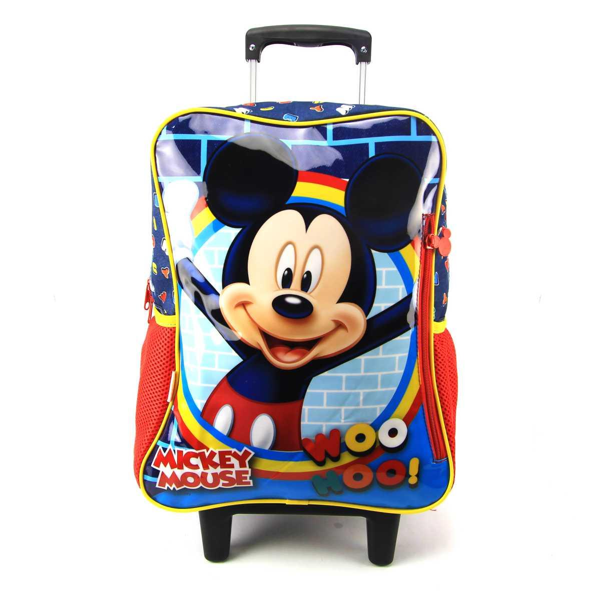 Mochila de Rodinha Mickey Disney Sestini 065316