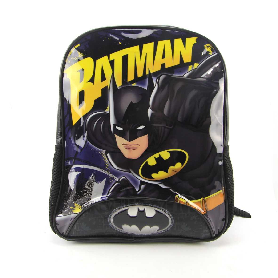 Mochila Infantil Pequeno Costas Batman Dc Xeryus 8853