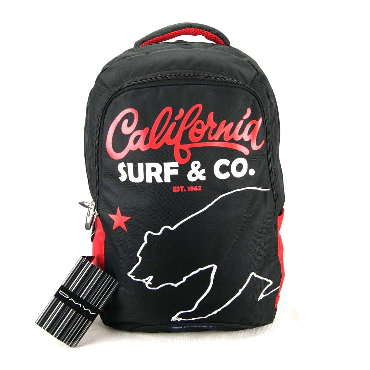 Mochila California Surf e Co. Preta DMW 11034