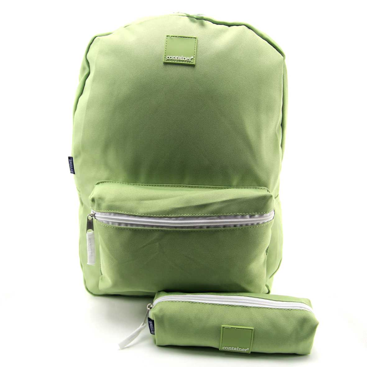 Mochila Container Verde Pastel com Estojo Dermiwil 37664
