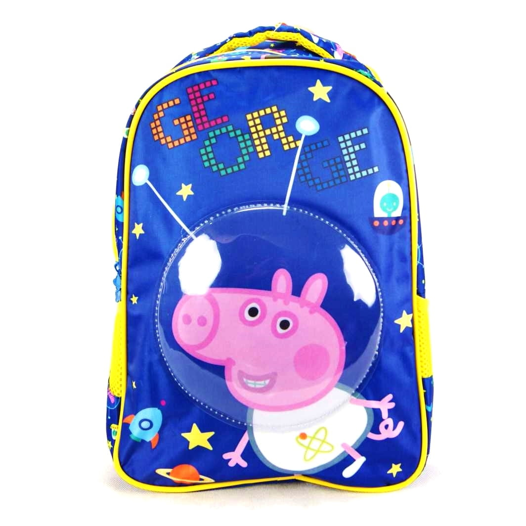 "Mochila George Astronauta Peppa 16"" Infantil Xeryus 5532"