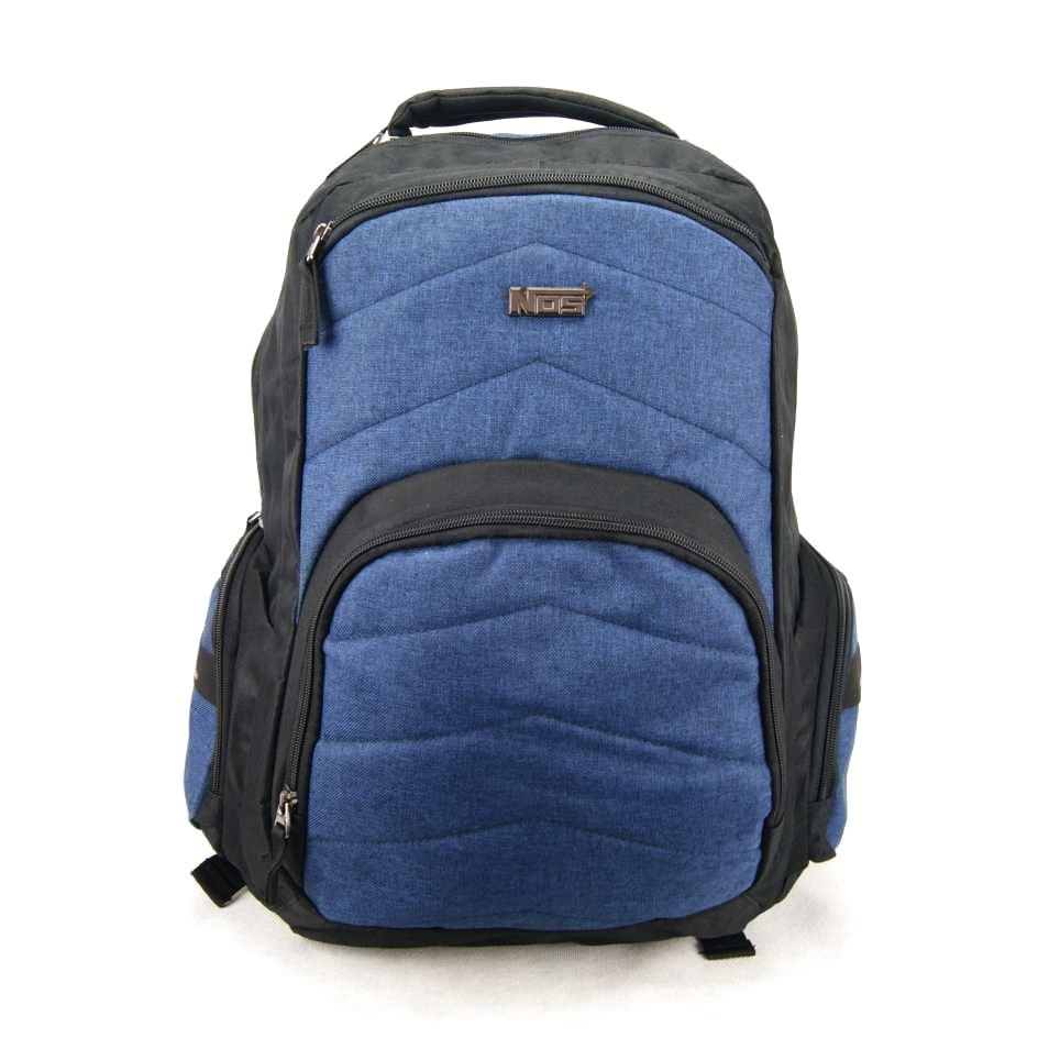 Mochila para Notebook Nos Luxcel Azul e Preto MJ48432NS