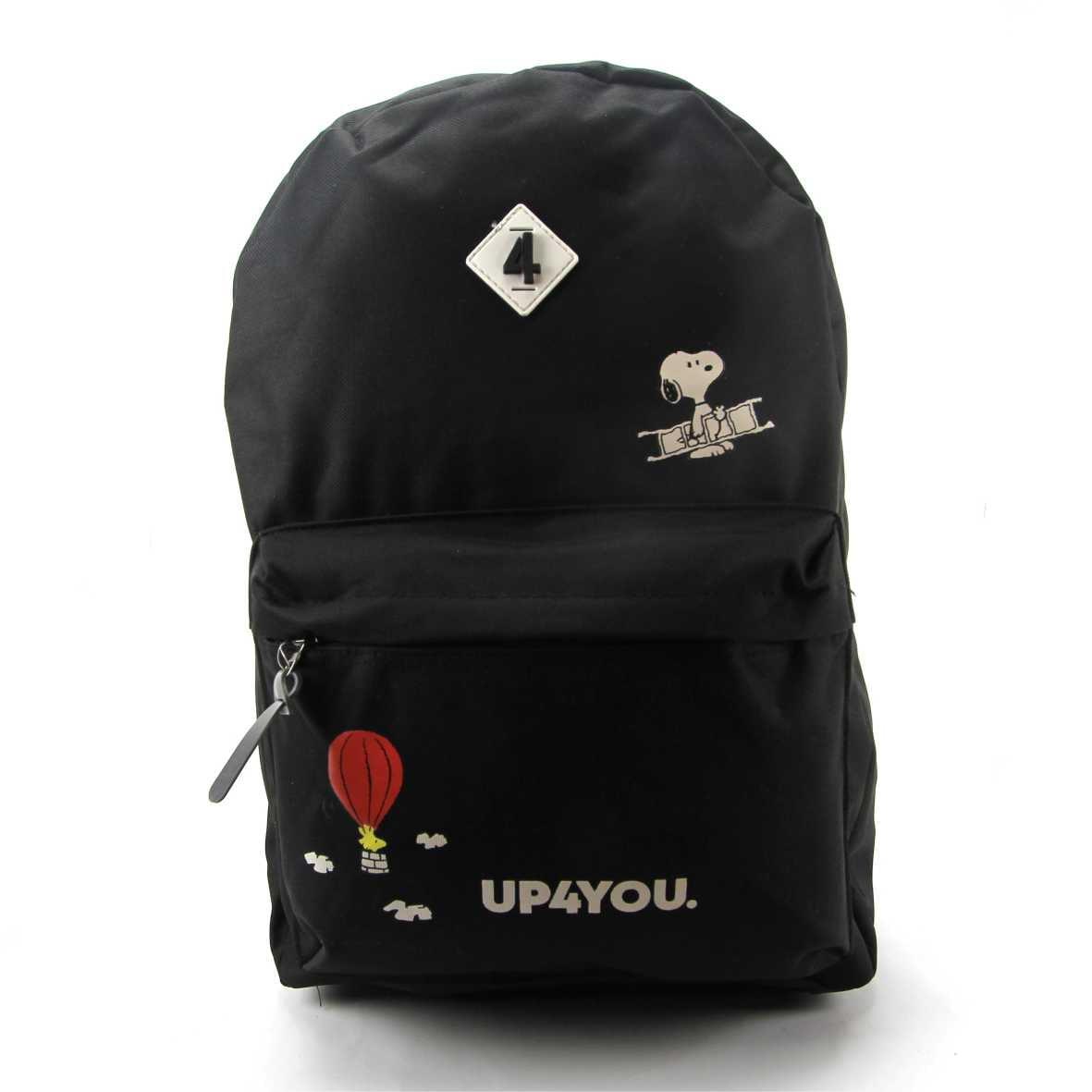 Mochila Up4you x Snoopy Original de Costas Luxcel MS45880UP-PT