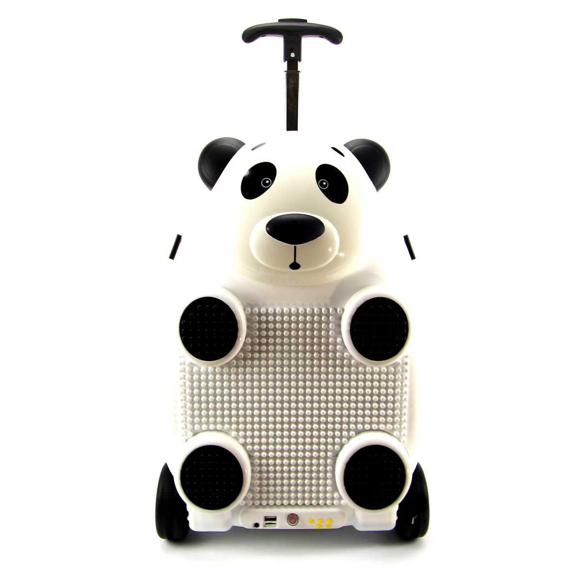 Malinha Infantil Controle Remoto Panda Sestini Play 065483-63
