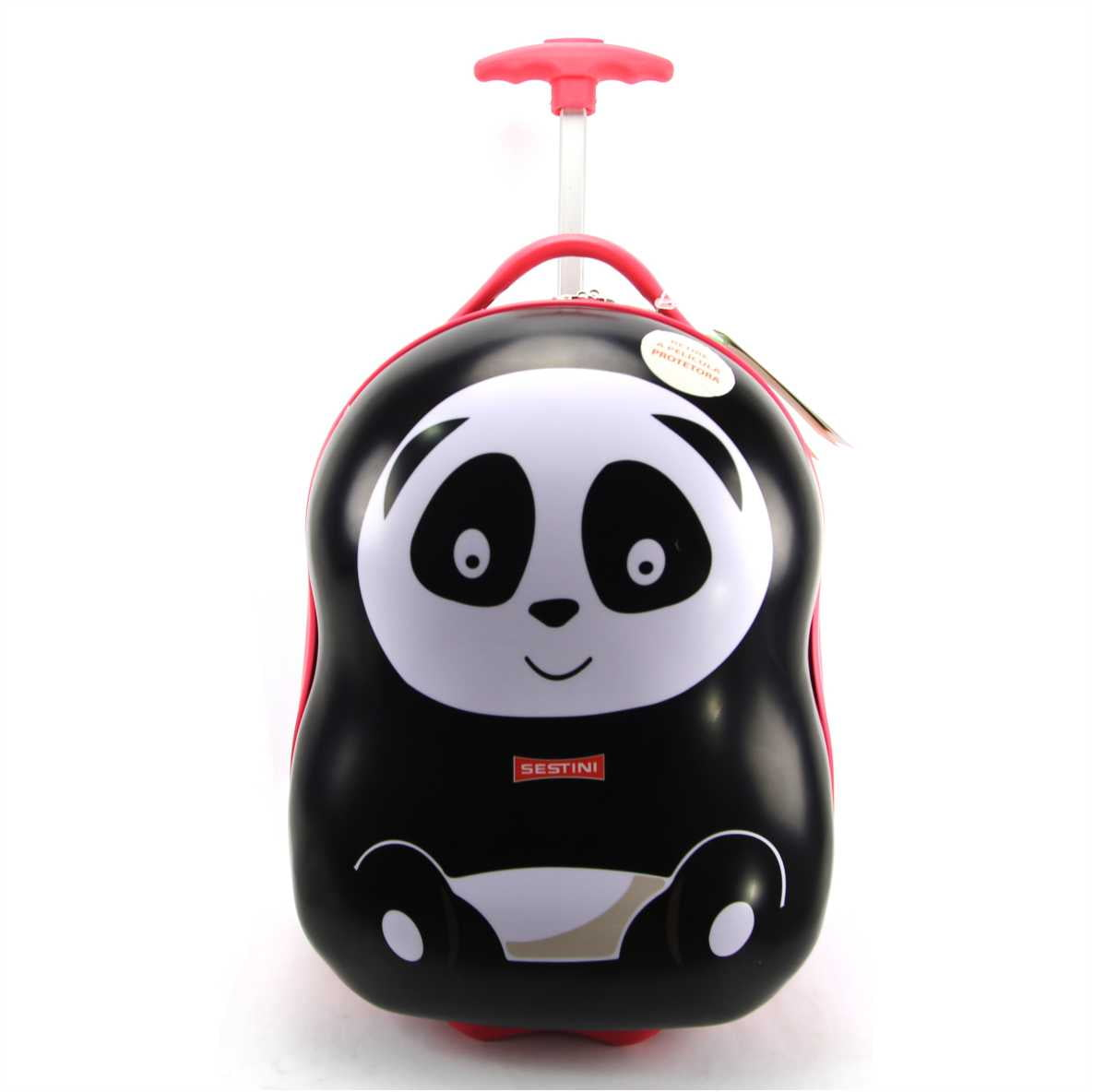 Malinha Infantil Pequena Panda Escolar Sestini 065647