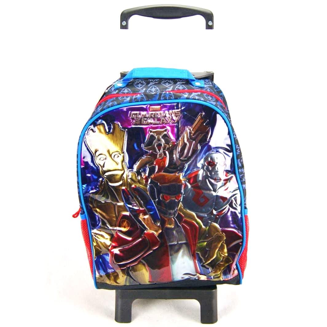 Mochila de Rodinha Marvel Guardiões da Galáxia DMW 48716 - Mochilete Infantil