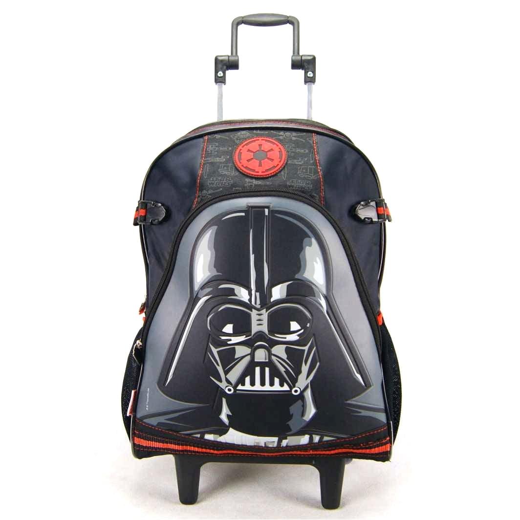 Mochila de Rodinha Star Wars Darth Vader ref 064090 Sestini - Mochilete Infantil