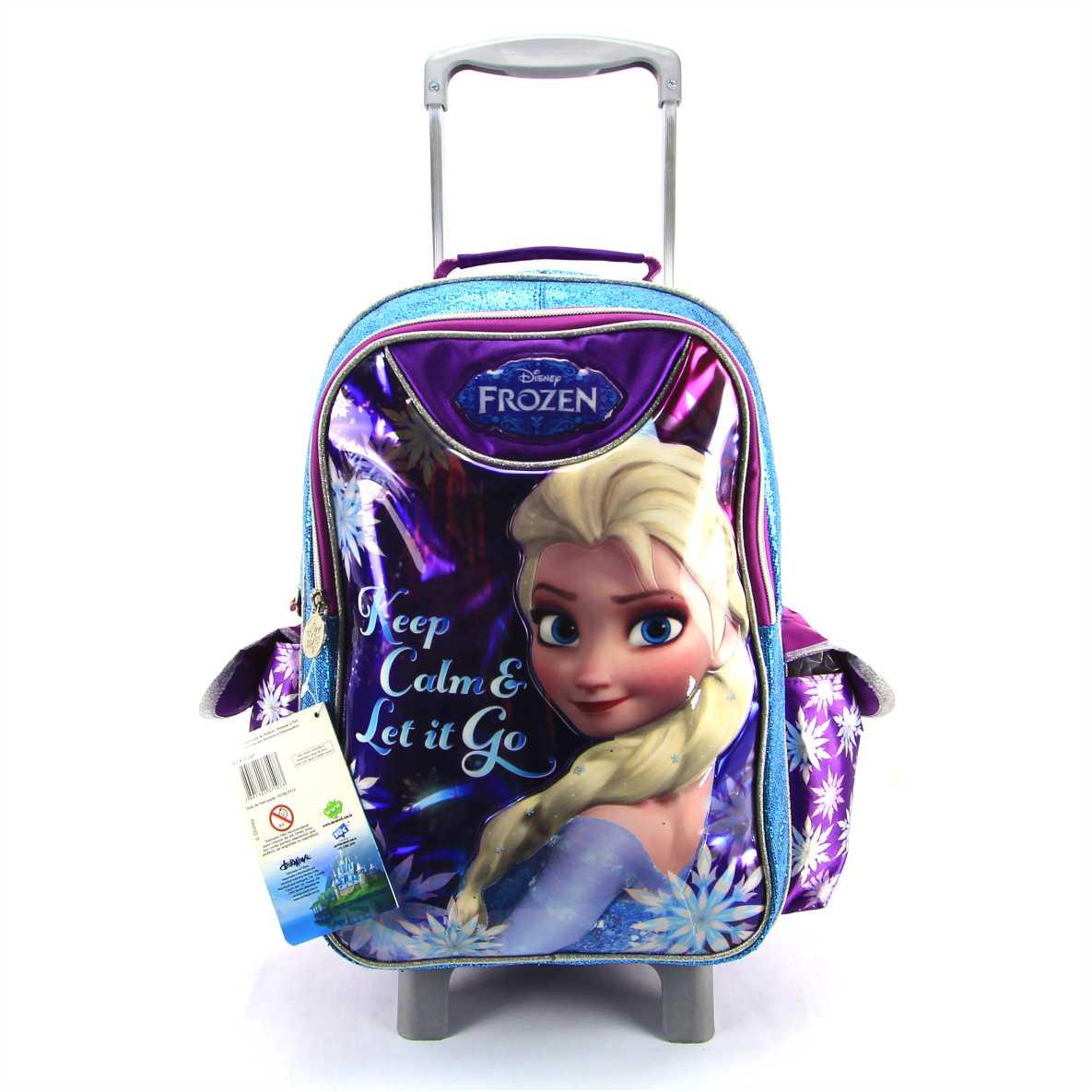 Mochila de Rodinha Frozen Disney Dermiwil 37107