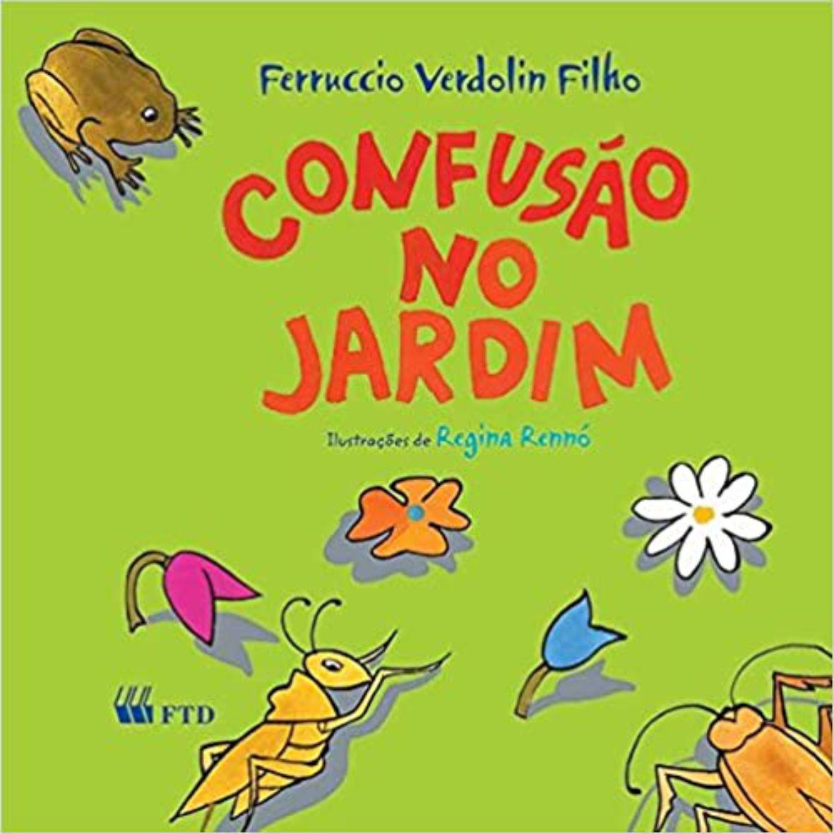 Livro Confusão no Jardim - Editora FTD