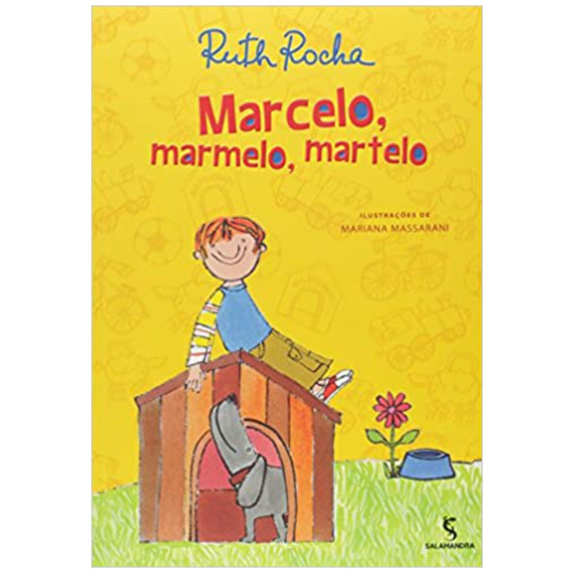 Livro Marcelo, Marmelo, Martelo - Editora Salamandra