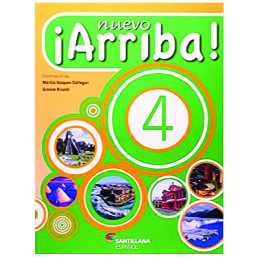 Livro Nuevo Arriba! V. 4 - Editora Moderna