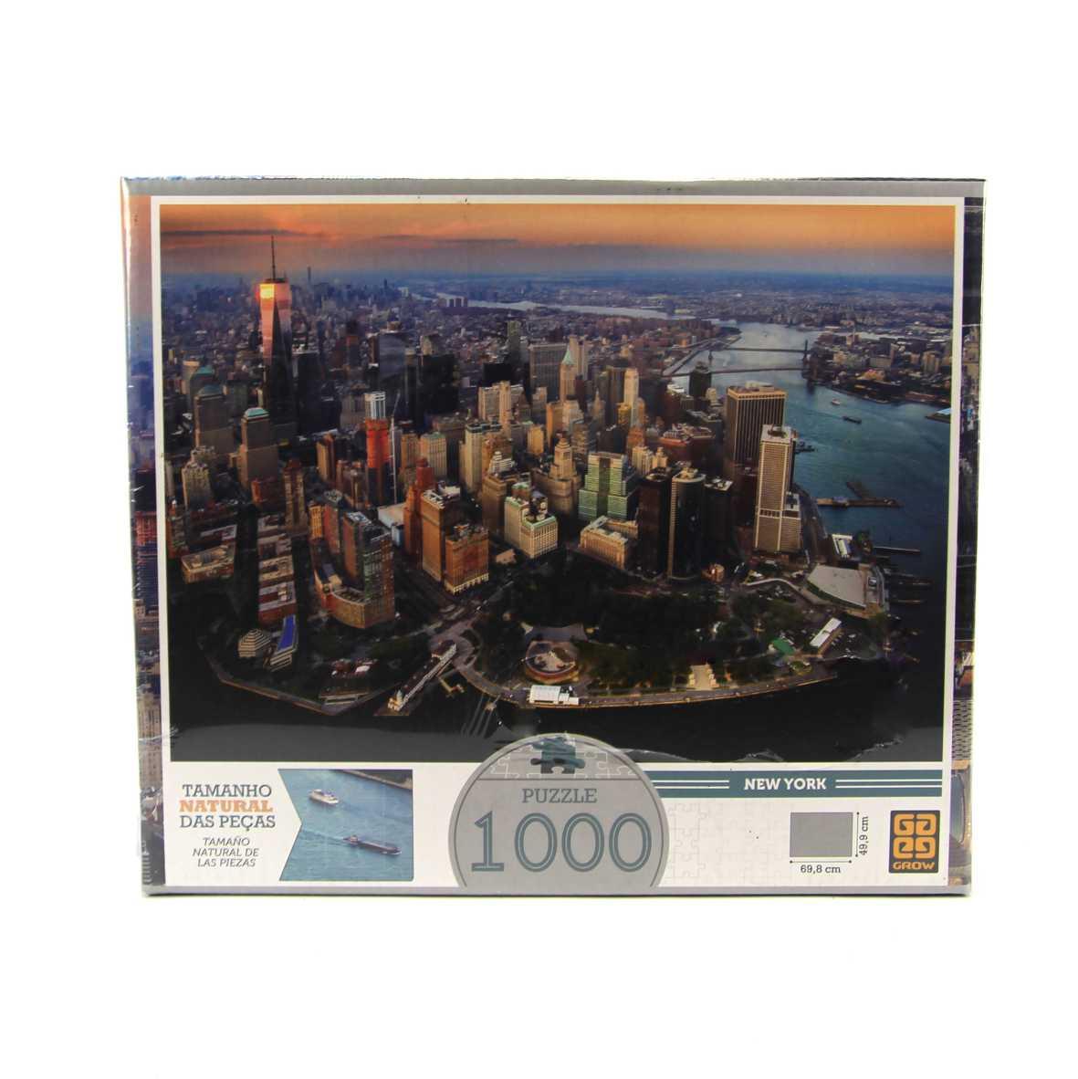 Quebra Cabeça New York 1000 peças Grow 03409