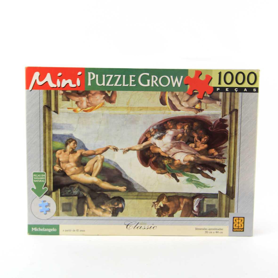 Quebra Cabeça Michelangelo 1000 peças Grow 02541