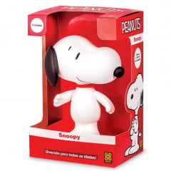 Boneco Snoopy Peanuts 15cm de altura Grow