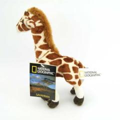Pelúcia Girafa National Geographic Baby Savana 23cm