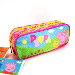 Estojo Escolar Peppa Pig Duplo ref 5235 Xeryus Kids