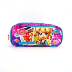 Estojo Escolar Polly Pocket Duplo ref 064086 Sestini