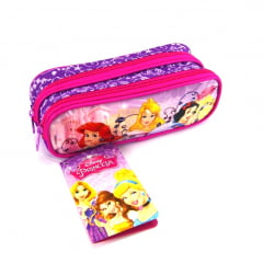 Estojo Escolar Princesas Disney Duplo ref 37211 Dermiwil