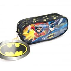 Estojo Escolar Batman Dc Duplo Xeryus 7235