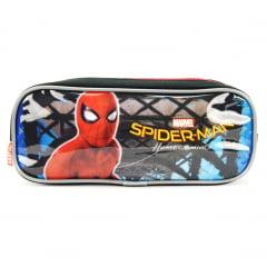 Estojo Escolar Homem Aranha de Volta ao Lar Duplo Sestini 065082