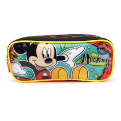Estojo Escolar Duplo Mickey 18M 065015 Sestini