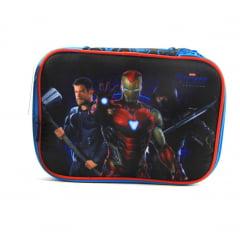 Estojo Box Vingadores Endgame Marvel DMW 11628 Preto