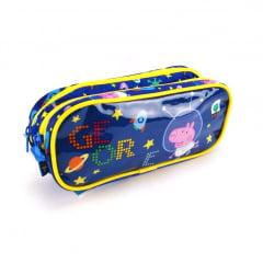 Estojo Escolar George Astronauta Peppa Pig Duplo ref 5535 Xeryus