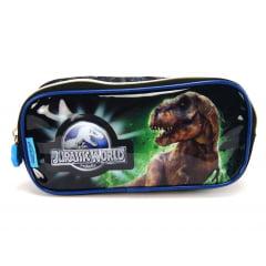 Estojo Jurassic World Dinossauro T-Rex Duplo Pacific 965C14