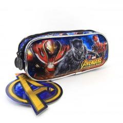 Estojo Os Vingadores Guerra Infinita Marvel Duplo Xeryus 7495