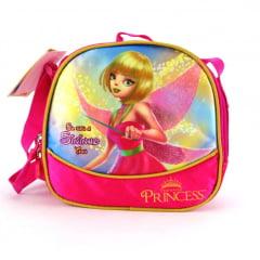Lancheira Fada Sininho Princesas Teen ref LA31115PS Luxcel