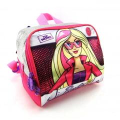 Lancheira Barbie Sp Squad Infantil Térmica Sestini 064461