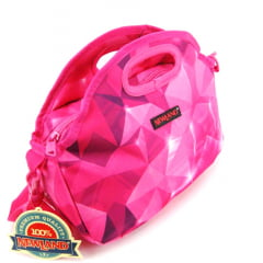 Lancheira Térmica Bolsa Rosa Newland 1003004 Mantica