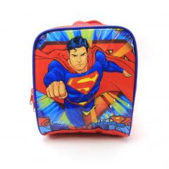 Lancheira Superman Térmica Dc Comics Luxcel LA32883SM-AZ