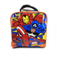 Lancheira Marvel Comics Vingadores Xeryus Kids 7064