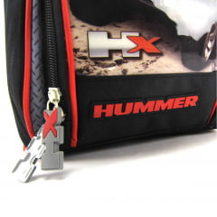 Lancheira Hummer Infantil Térmica Vermelho Luxcel LA32443HM