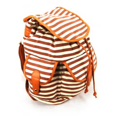 Mochila com Tampa Up4You Marrom ref MS45384UP Luxcel