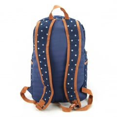 Mochila Feminina Up4you Bolinhas Luxcel MS45460UP