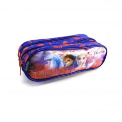 Mochila Frozen II Infantil Costas com Estojo Dermiwil 37382