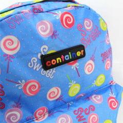 Mochila Container Juvenil Costas Sweet Azul 51874
