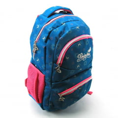 Mochila Juvenil Costas Princess Verde Luxcel MS45482PS