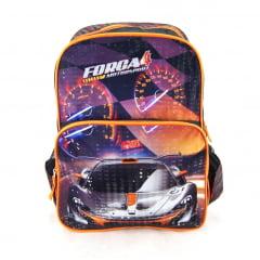 Mochila Corrida Força 4 Motorsport Laranja ref IS31511FA Luxcel