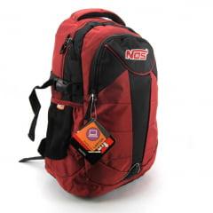 Mochila NOS Costas para Notebook Vermelho Luxcel MJ48435NS