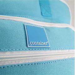 Mochila com Alça de Mão Container Azul Claro Dermiwil 37698